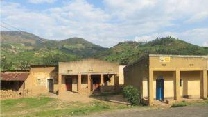 Die Landschaft in Ruanda