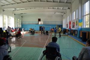 Sportfest der Rollstuhlfahrer