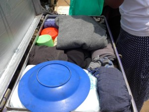 Eine vorbildlich gepackte Schulbox