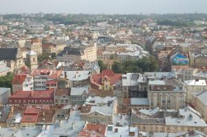 Lviv von oben