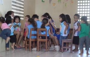 in der Creche São Cláudio