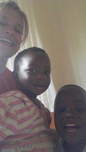 Zwei kleine Kinder aus meinem Projekt (Sara und Luca)